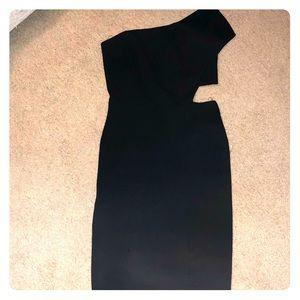 2ecf5506b7 NWT Gianni Bini black cutout midi dress